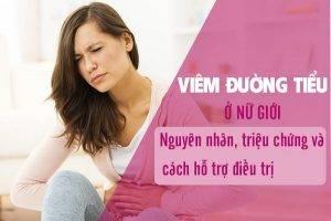 Viêm đường tiểu ở nữ